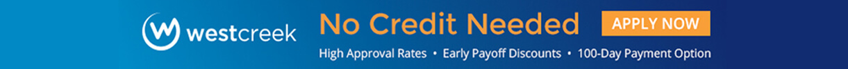 No Credit Financing Available